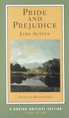 Pride and Prejudice 3rd edition 9780393976045 0393976041
