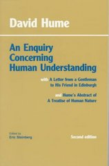 An Enquiry Concerning Human Understanding 2nd Edition 9780872202290 0872202291