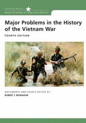 Major Problems in the History of the Vietnam War 4th edition 9780618749379 0618749373