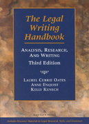 The Legal Writing Handbook 3rd edition 9780735524873 0735524874