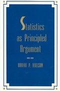 Statistics As Principled Argument 1st Edition 9780805805284 0805805281