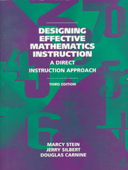 Designing Effective Mathematics Instruction 3rd Edition 9780135966518 0135966515