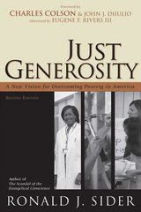 Just Generosity 2nd Edition 9780801066139 0801066131
