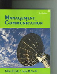 Management Communication 2nd Edition 9780471755241 0471755249