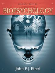 Biopsychology 7th Edition 9780205548927 020554892X