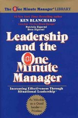 Leadership and the One Minute Manager 1st Edition 9780688039691 0688039693