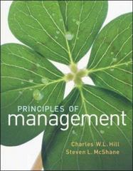 Principles of Management 1st edition 9780073530123 0073530123