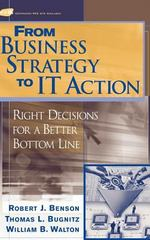 From Business Strategy to IT Action 1st edition 9780471491910 0471491918