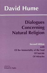 Dialogues Concerning Natural Religion and the Natural History of Religion 2nd edition 9780872204027 0872204022