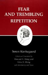 Kierkegaard's Writings, VI: Fear and Trembling/Repetition 0 9780691020266 0691020264