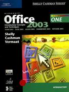 Microsoft Office 2003: Introductory Concepts and Techniques 1st edition 9780619200244 0619200243