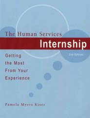 The Human Services Internship 2nd edition 9780495092261 0495092266