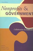 Nonprofits and Government 2nd Edition 9780877667322 0877667322