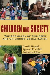 Children and Society 1st Edition 9780195330786 0195330781