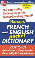 Harrap's French and English Pocket Dictionary 1st Edition 9780071440707 0071440704