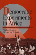 Democratic Experiments in Africa 0 9780521556125 0521556120