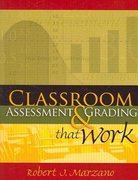 Classroom Assessment and Grading That Work 1st Edition 9781416604228 1416604227