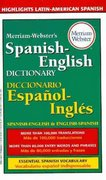 Merriam-Webster's Spanish-English Dictionary 1st edition 9780877799160 0877799164