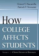 How College Affects Students 1st edition 9780787910440 0787910449