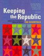 Keeping the Republic 3rd edition 9781933116006 1933116005