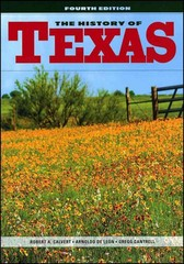 The History of Texas 4th Edition 9780882952550 0882952552