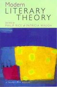 Modern Literary Theory 4th edition 9780340761915 0340761911