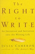 The Right to Write 1st Edition 9781585420094 1585420093