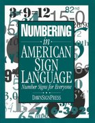 Numbering in American Sign Language 0 9780915035724 0915035723