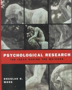 Psychological Research 1st Edition 9780393976205 0393976203