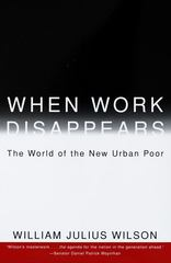 When Work Disappears 1st Edition 9780679724179 0679724176