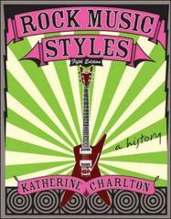 Rock Music Styles 5th edition 9780073121628 0073121622