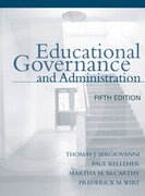 Educational Governance and Administration 5th edition 9780205380862 0205380867
