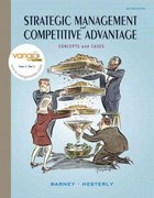 Strategic Management and Competitive Advantage 2nd Edition 9780132338233 0132338238