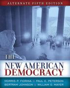 The New American Democracy 5th edition 9780321430076 0321430077