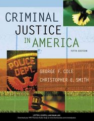Criminal Justice in America 5th edition 9780495095309 0495095303