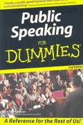 Public Speaking For Dummies 2nd edition 9780764559549 0764559540