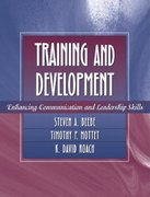 Training and Development 1st edition 9780205332434 0205332439