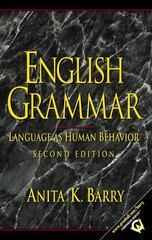 English Grammar 2nd Edition 9780130322609 0130322601