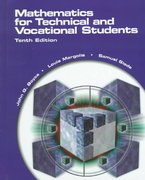 Mathematics for Technical and Vocational Students 10th Edition 9780130104328 0130104329