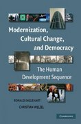 Modernization, Cultural Change, and Democracy 1st Edition 9780511252884 0511252889