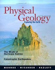 Physical Geology 6th edition 9780495110019 0495110019