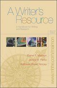 A Writer's Resource 2nd edition 9780072962093 0072962097