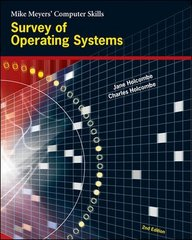 Survey of Operating Systems 2nd edition 9780072257731 0072257733