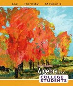 Algebra for College Students 6th edition 9780321442543 0321442547