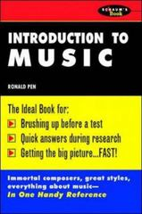 Schaum's Outline of Introduction To Music 1st edition 9780070380684 0070380686