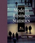 An Introduction to Modern Business Statistics (with CD-ROM) 2nd edition 9780534358198 0534358195