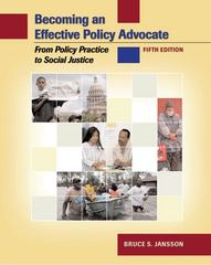 Becoming an Effective Policy Advocate 5th edition 9780495006237 0495006238