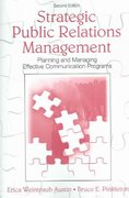 Strategic Public Relations Management 3rd Edition 9781317625308 1317625307
