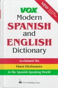 Vox Modern Spanish and English Dictionary 1st edition 9780844279909 0844279900