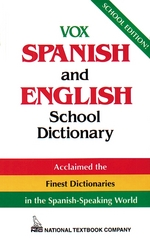 Vox Spanish and English School Dictionary 1st edition 9780844279763 0844279765
